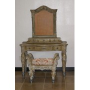 MARC CONSOLE WITH MIRROR FRAME & BENCH