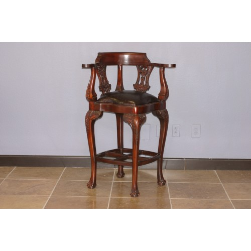 CHIPPENDALE BARSTOOL